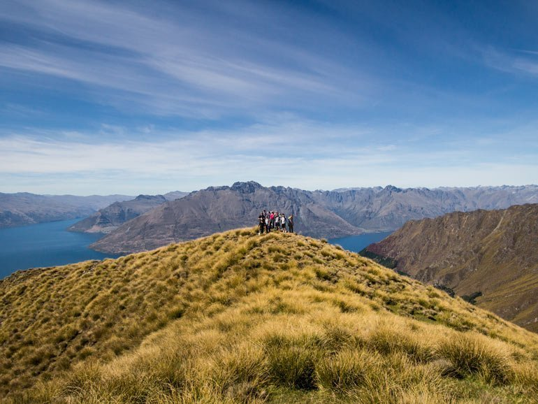 Alpine Heli-Hike above Lake Wakatipu