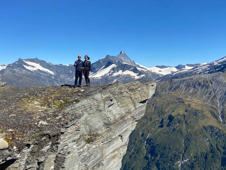 Heli-hiking on the Mt Aspiring Chalet Heli-Hike