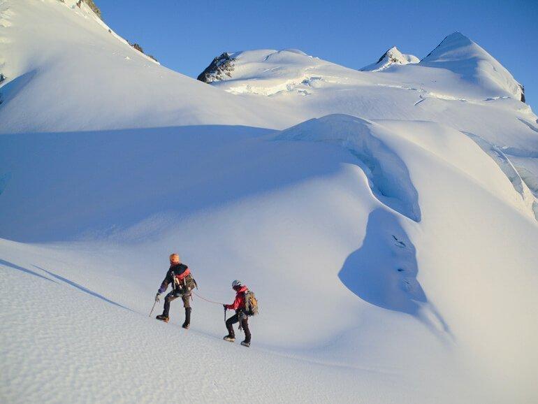 Exploring the Tasman Glacier