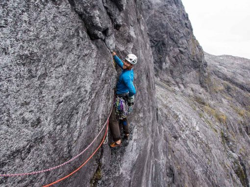 New Zealand Alpine Rock Climbing