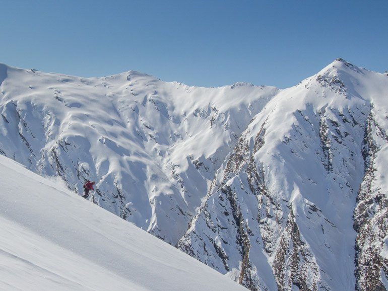 Ski touring Queenstown