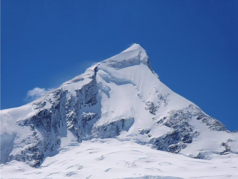 NW ridge Mt Aspiring