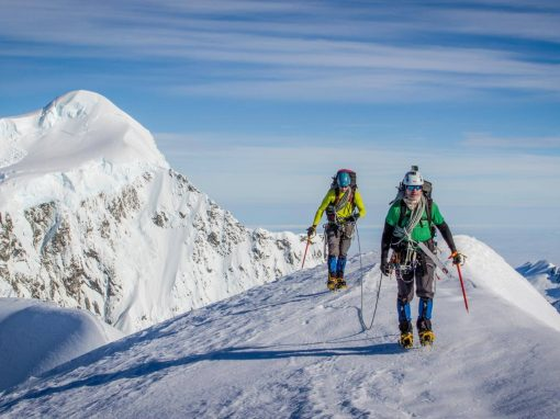 New Zealand Mountaineering Course